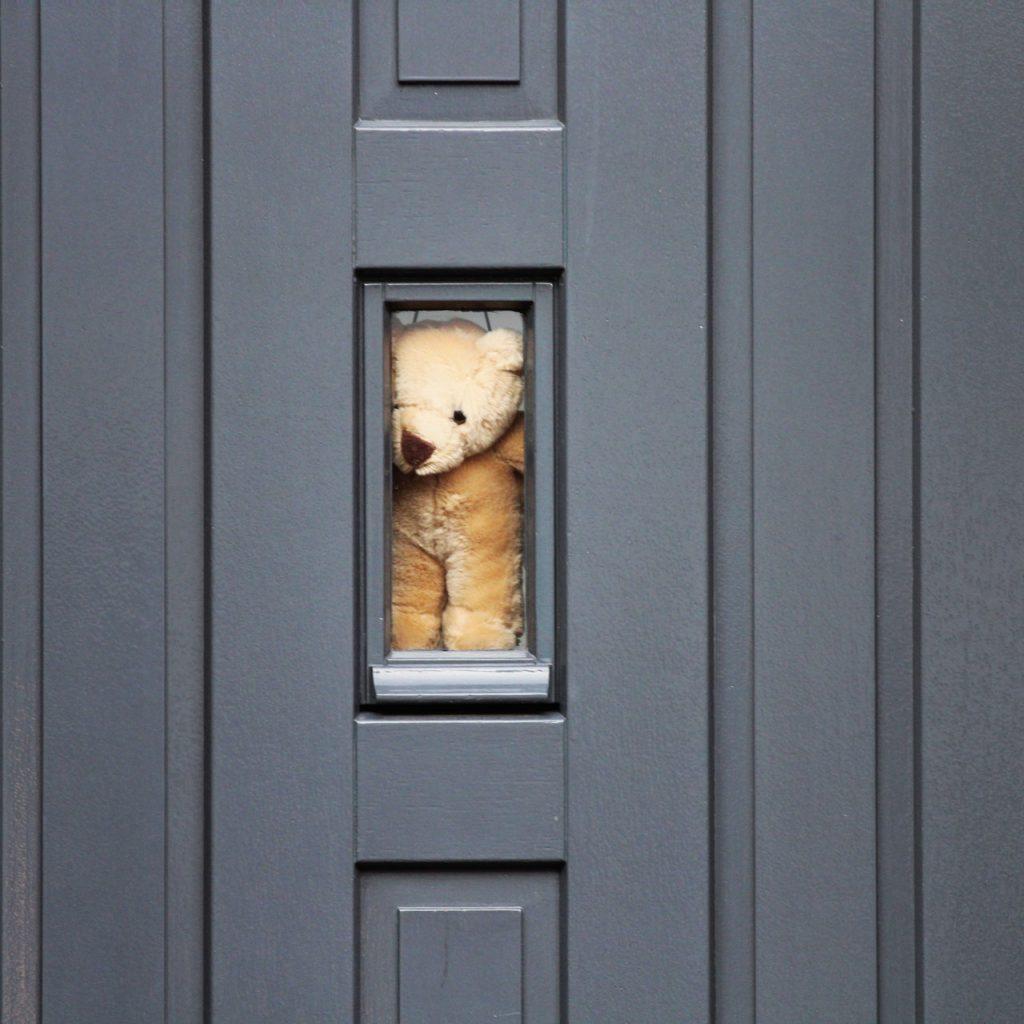 puerta seguridad